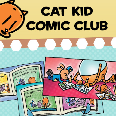 Cat Kid's Comic Club