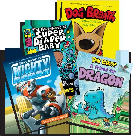 Planet Pilkey | Dog Man, Captain Underpants, Books, Game