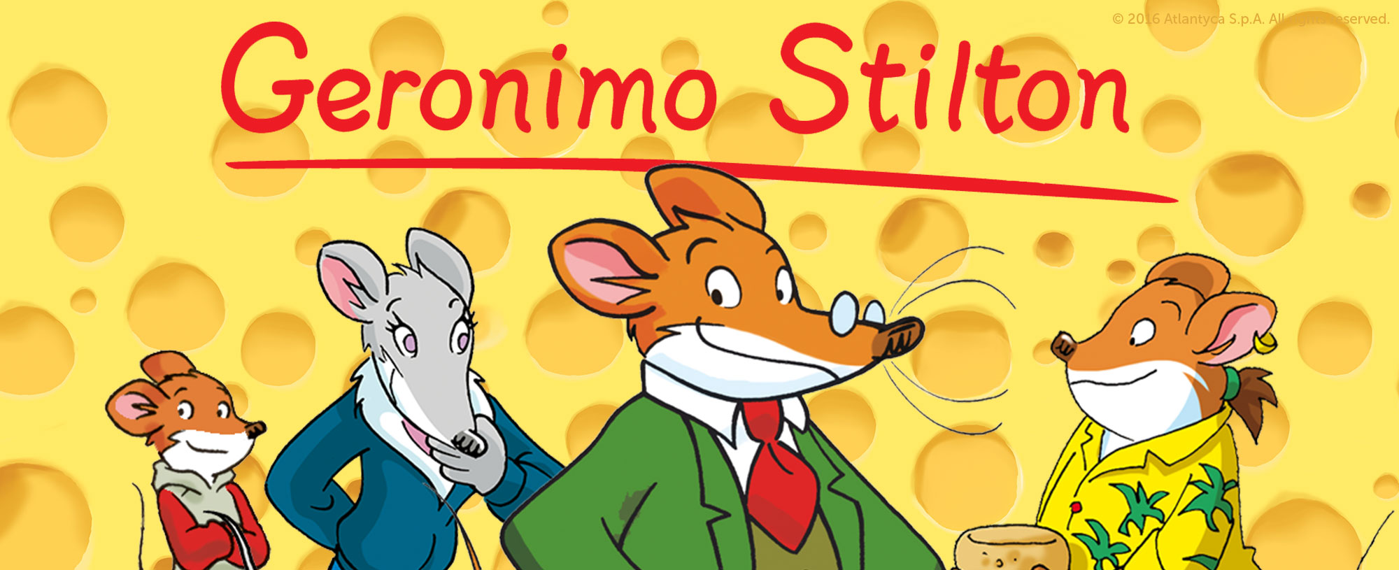 Geronimo Stilton | Scholastic Kids