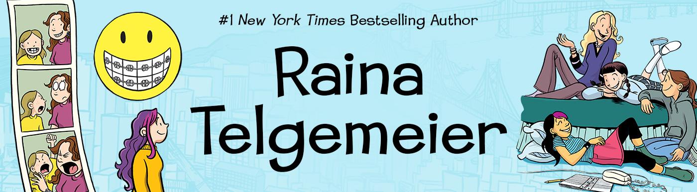 Image result for raina telgemeier