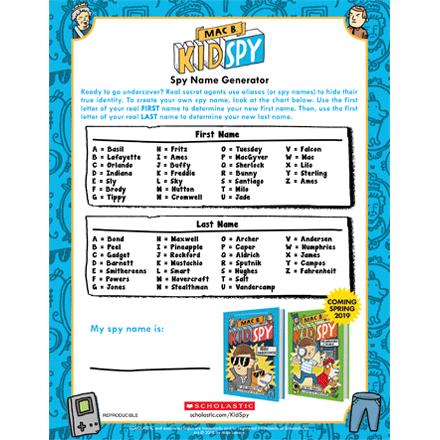 Mac B  Kid Spy Book Series | Scholastic Kids