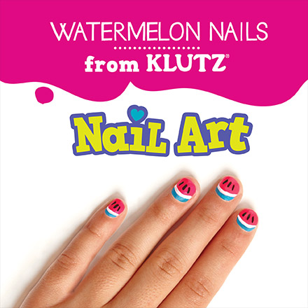 How To Make Watermelon Nails